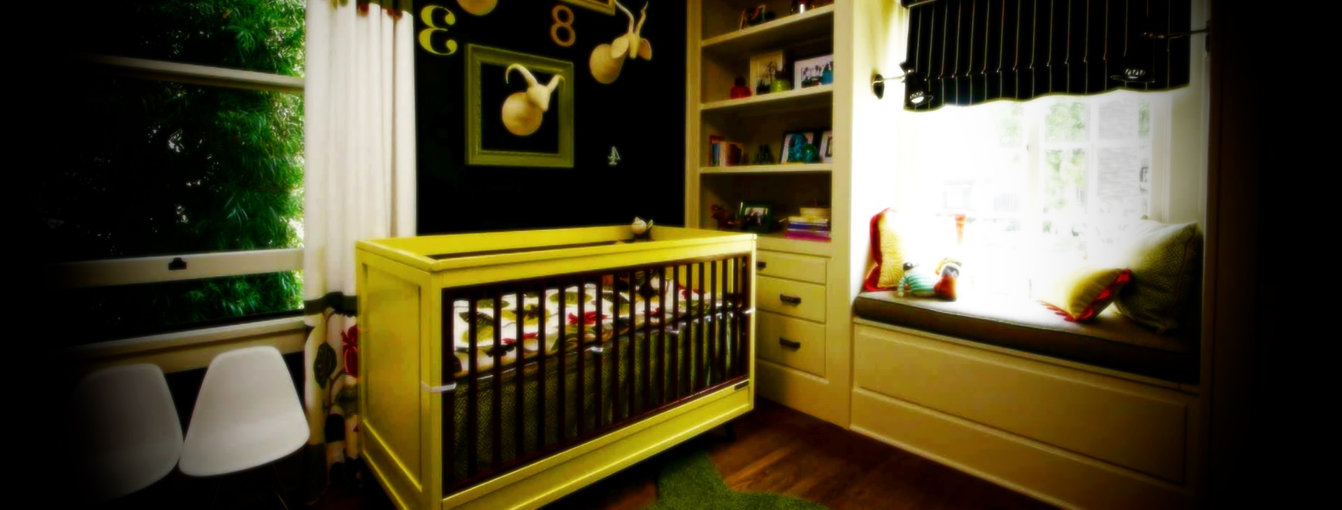 E Baby Nursery Decoration